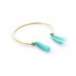 Bracelet Pompon Hippie