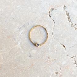 Bague Chaine Diamant Friend