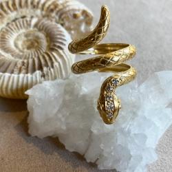 RING SNAKE JOSHUA DIAMOND