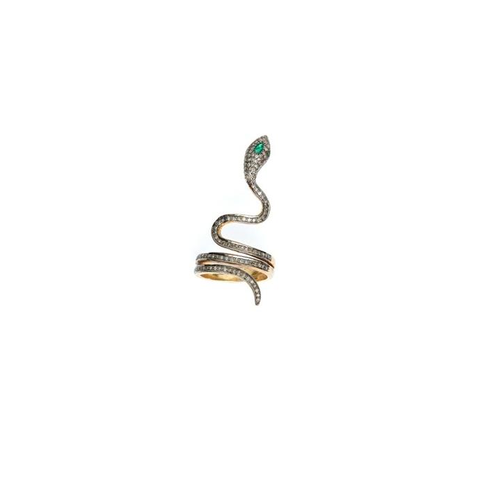 Ring Snake Diamond