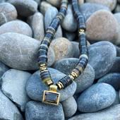 ✨ Light ✨ Collier Quartz Fumé 🌙✨Smoky quartz necklace✨ • • • • #stone #quartzfumé #jewelry #artisant #handmadejewelry #workinprogress #shell #parisianstyle #paris #schadejewellery